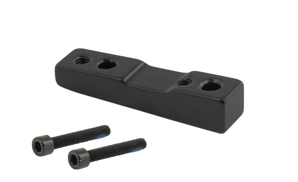 adaptér zadní FORCE FLAT 160mm,34mm černý