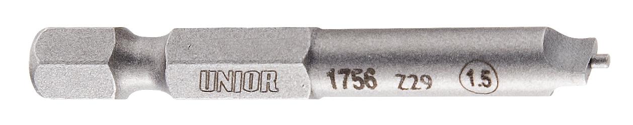 bit UNIOR 1,5 mm na niple pro vyplétání