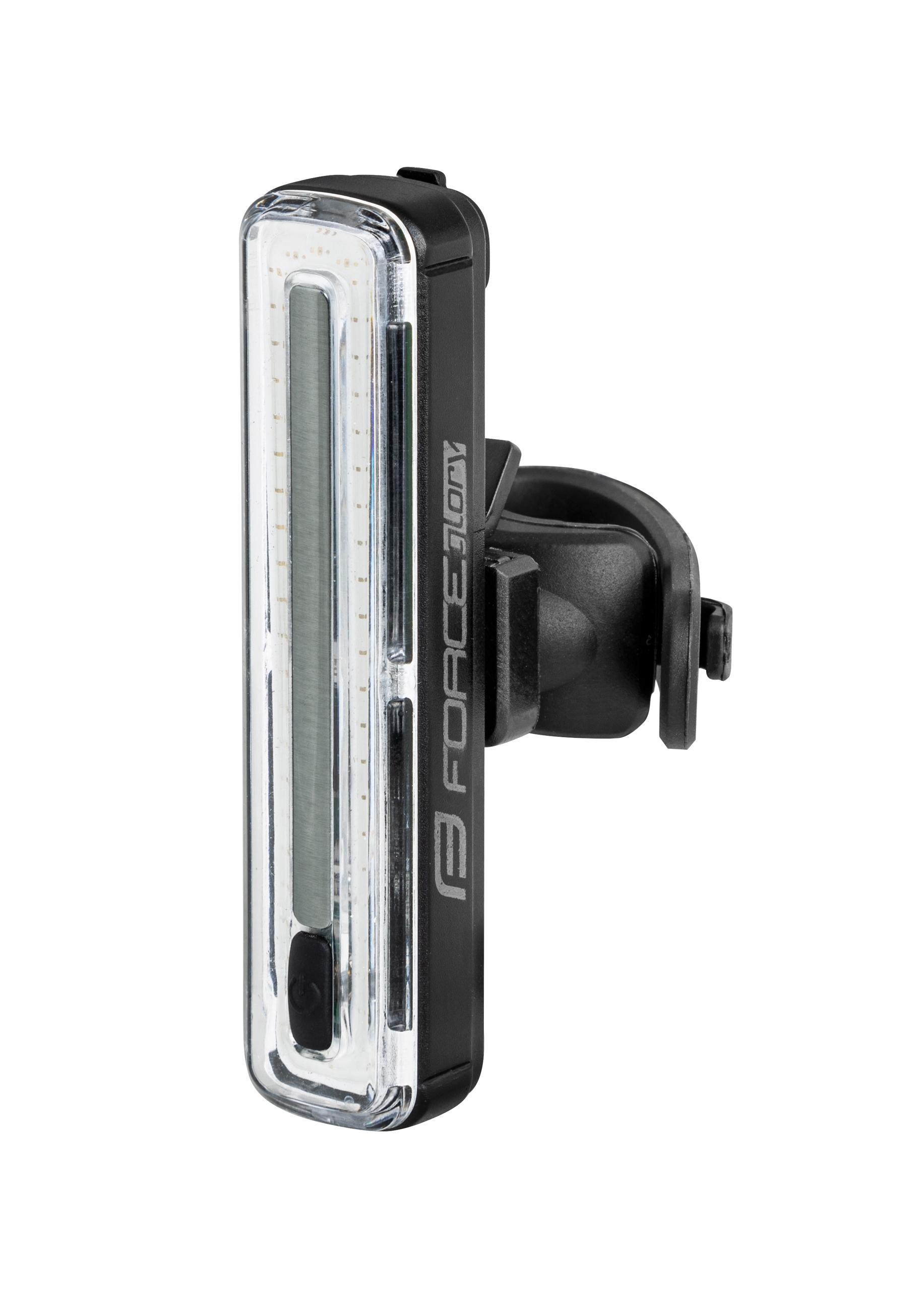 blikačka zadní FORCE GLORY 70LM, 50x LED, USB