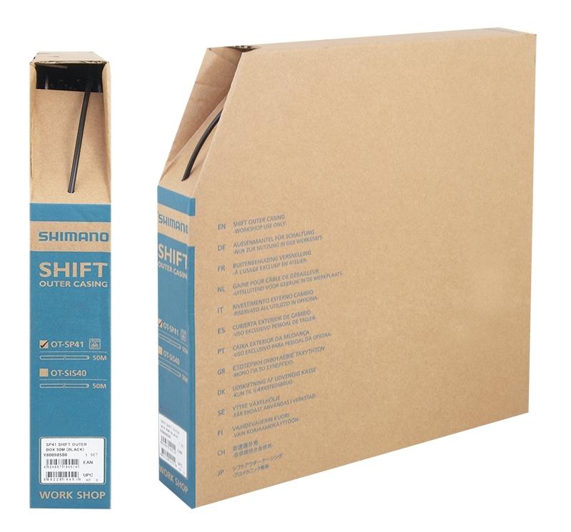 bowden řadící SH SIS-SP41 4mm, černý 50m BOX