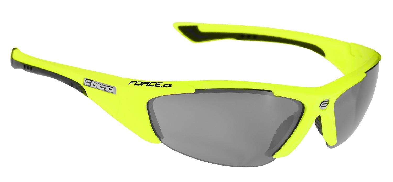 brýle FORCE LADY fluo, černá laser skla