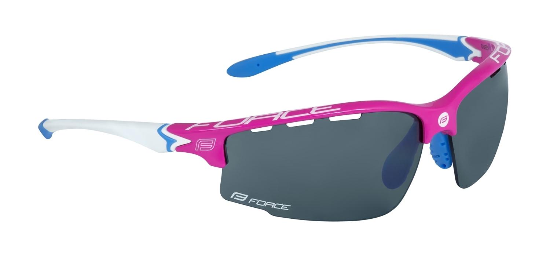 brýle FORCE QUEEN růžovo-bílé, černá laser skla