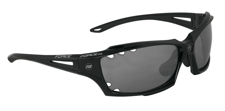 brýle FORCE VISION černé, černá laser skla