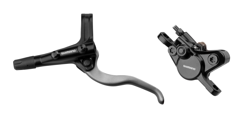 brzda kotoučová přední komplet MT400 černá 100 cm