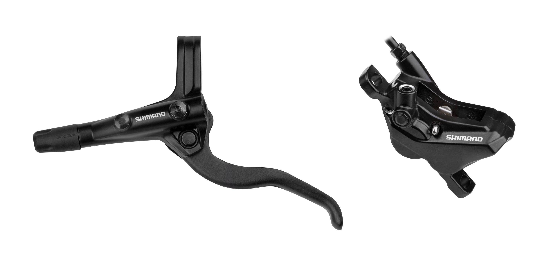 brzda kotoučová přední komplet MT420 černá 100 cm