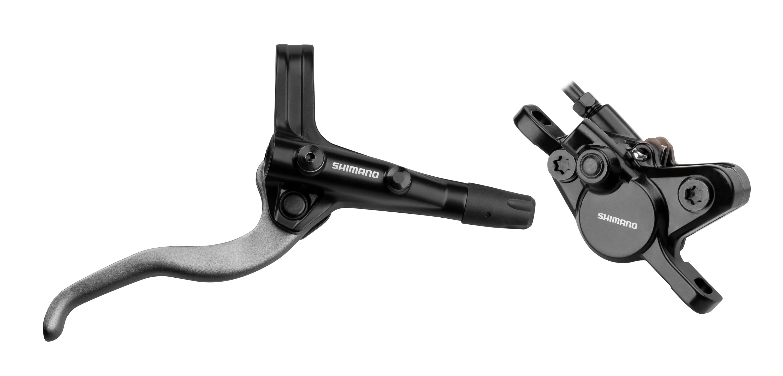 brzda kotoučová zadní komplet MT400 černá 170 cm