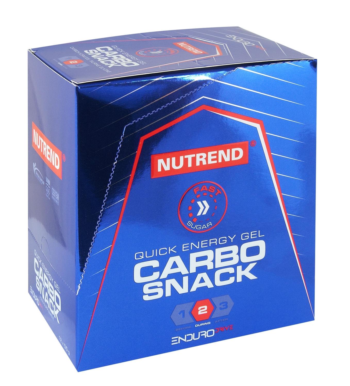 CARBOSNACK gel tuba borůvka, box, 12x55g