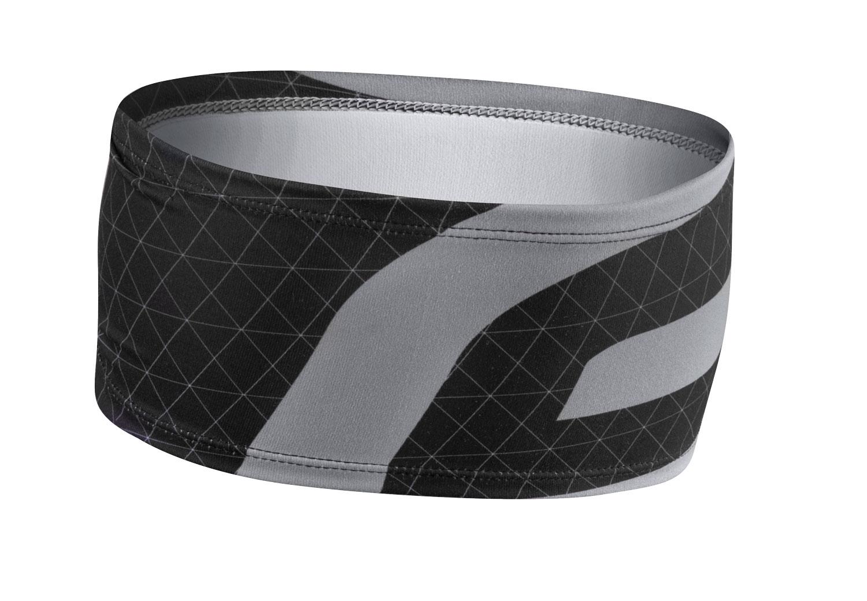 čelenka FORCE FIT sportovní, černo-šedá UNI