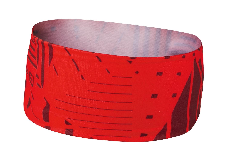 čelenka FORCE SHARD sport zúžená, červená UNI
