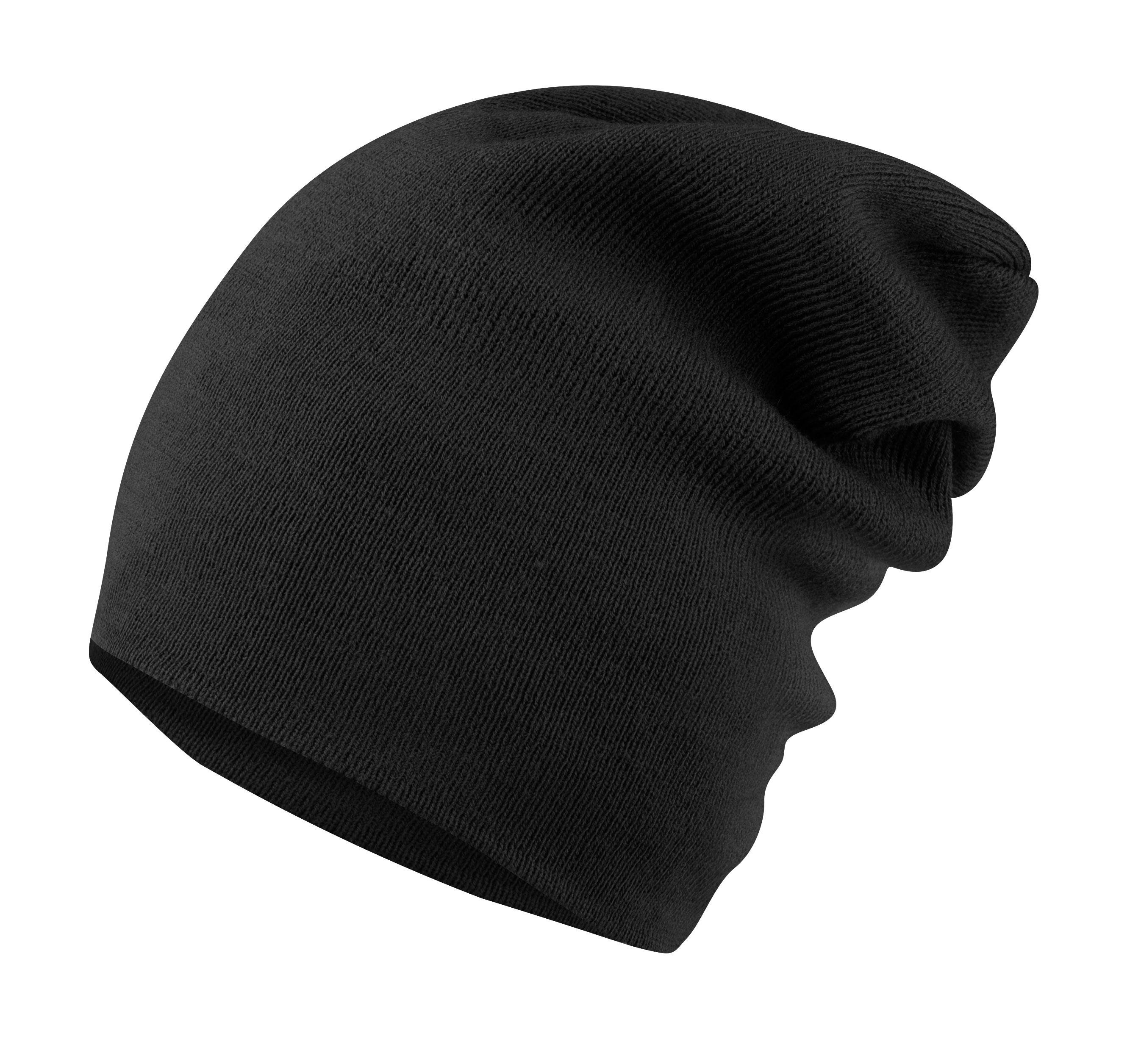 čepice zimní FORCE ELF2 pletená, černá