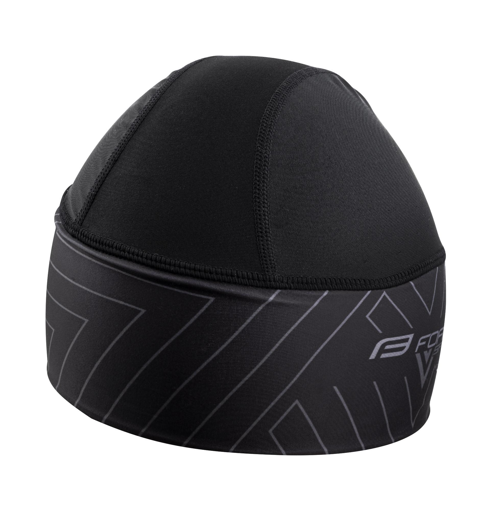 čepice pod přilbu FORCE SPIKE, černá L-XL