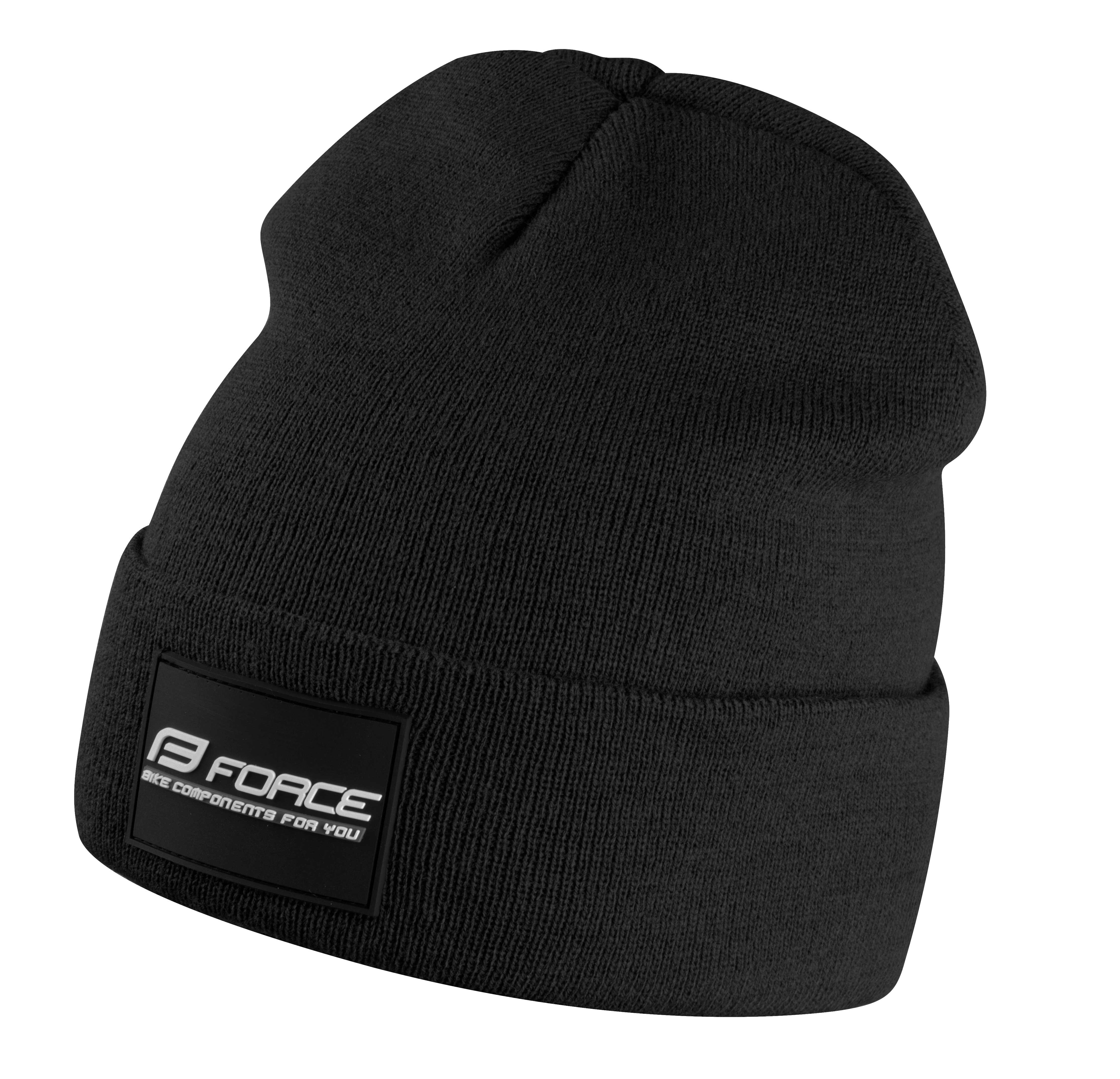 čepice zimní FORCE BRAND černá