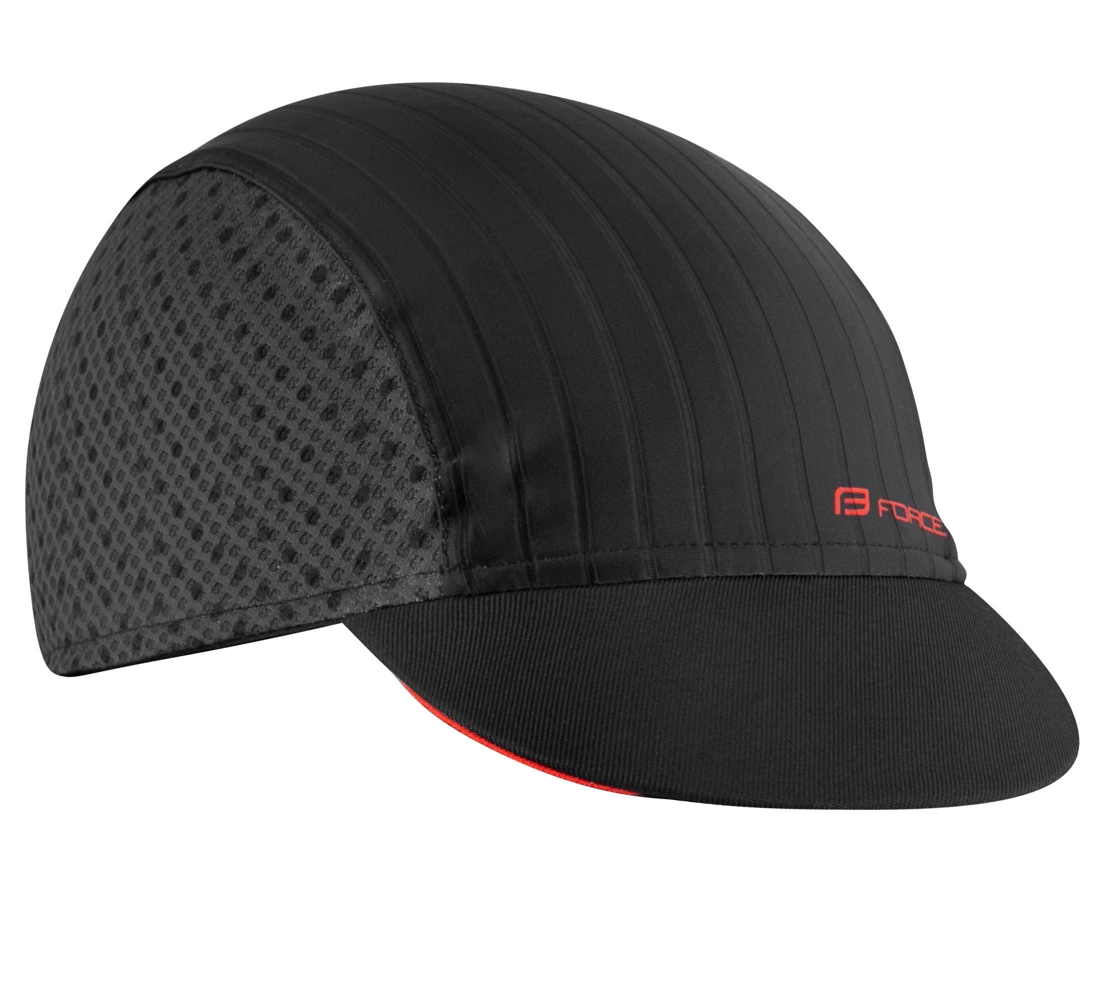 čepička s kšiltem F POINTS letní,černo-šedá L-XL