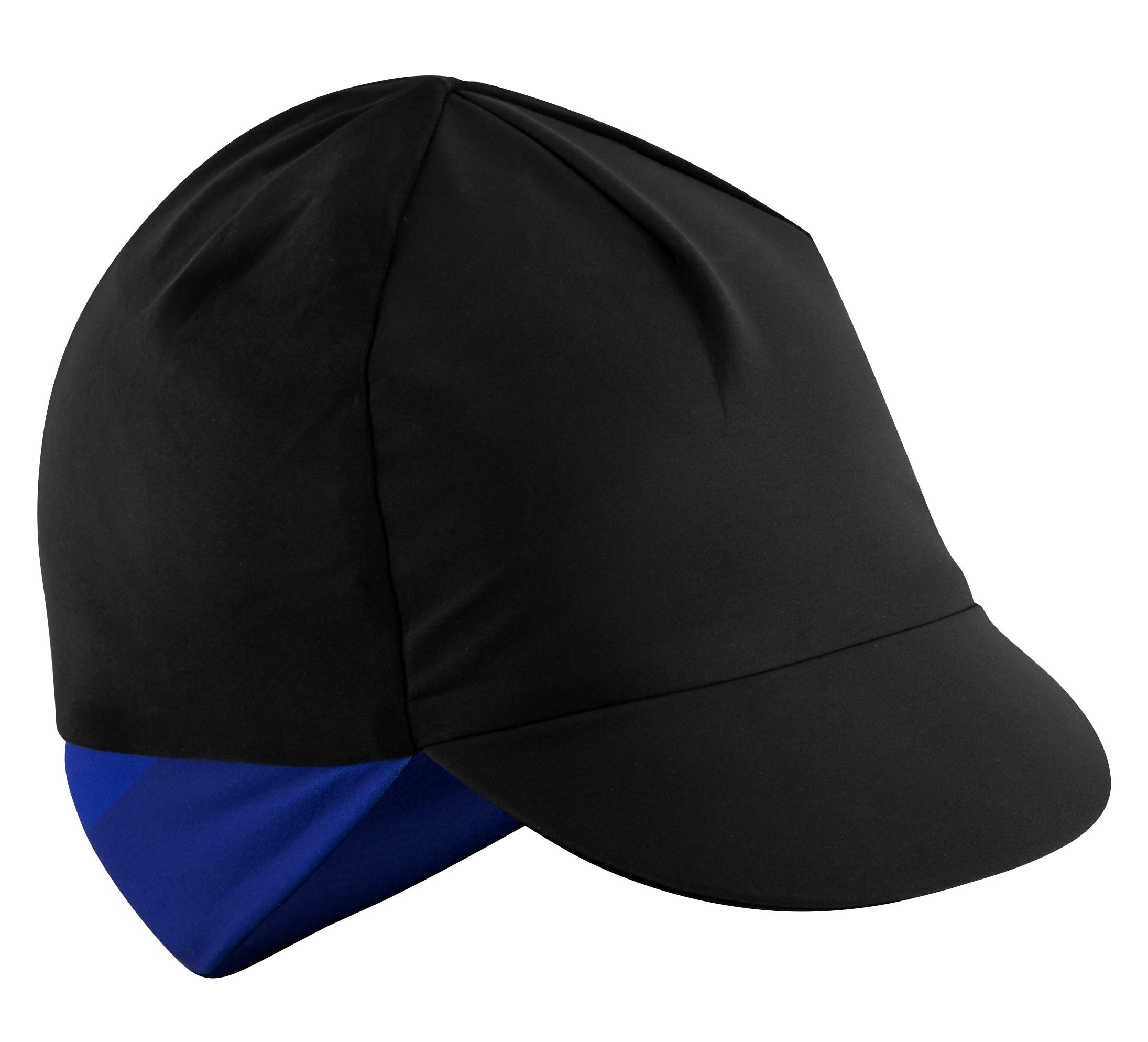 čepička s kšiltem FORCE BRISK zimní,črn-modrá