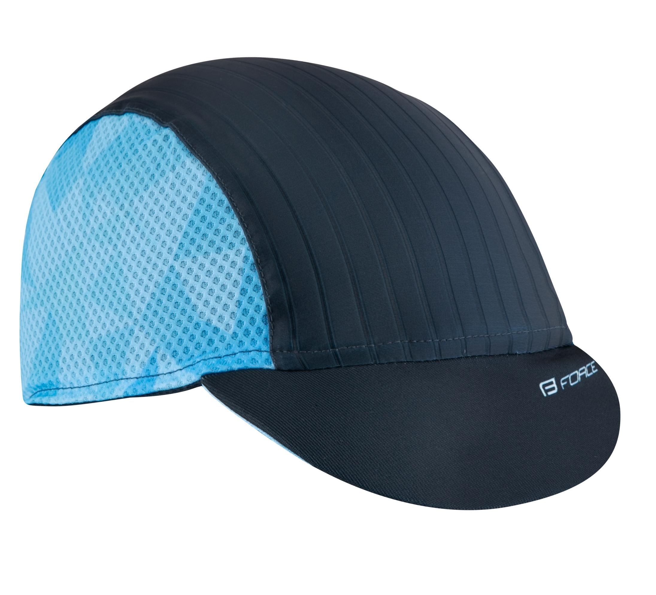čepička s kšiltem FORCE CORE letní,černo-modrá
