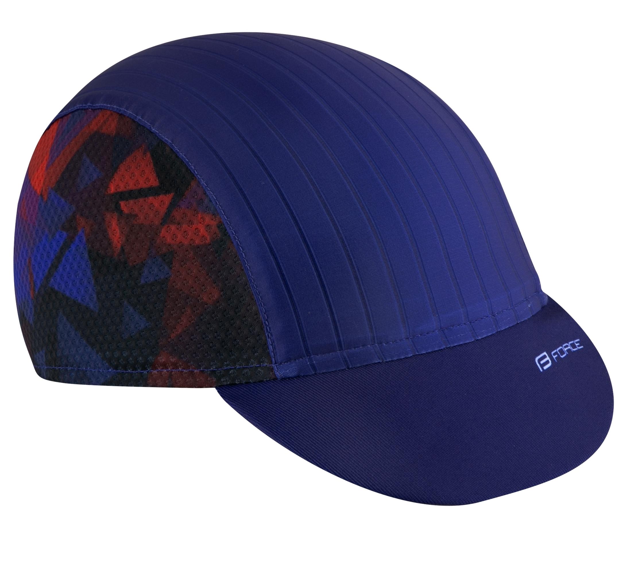 čepička s kšiltem FORCE CORE letní,modro-červ L-XL