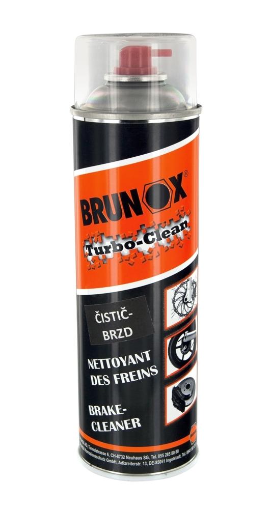 čistič-sprej BRUNOX Turbo-Clean, na brzdy, 500 ml