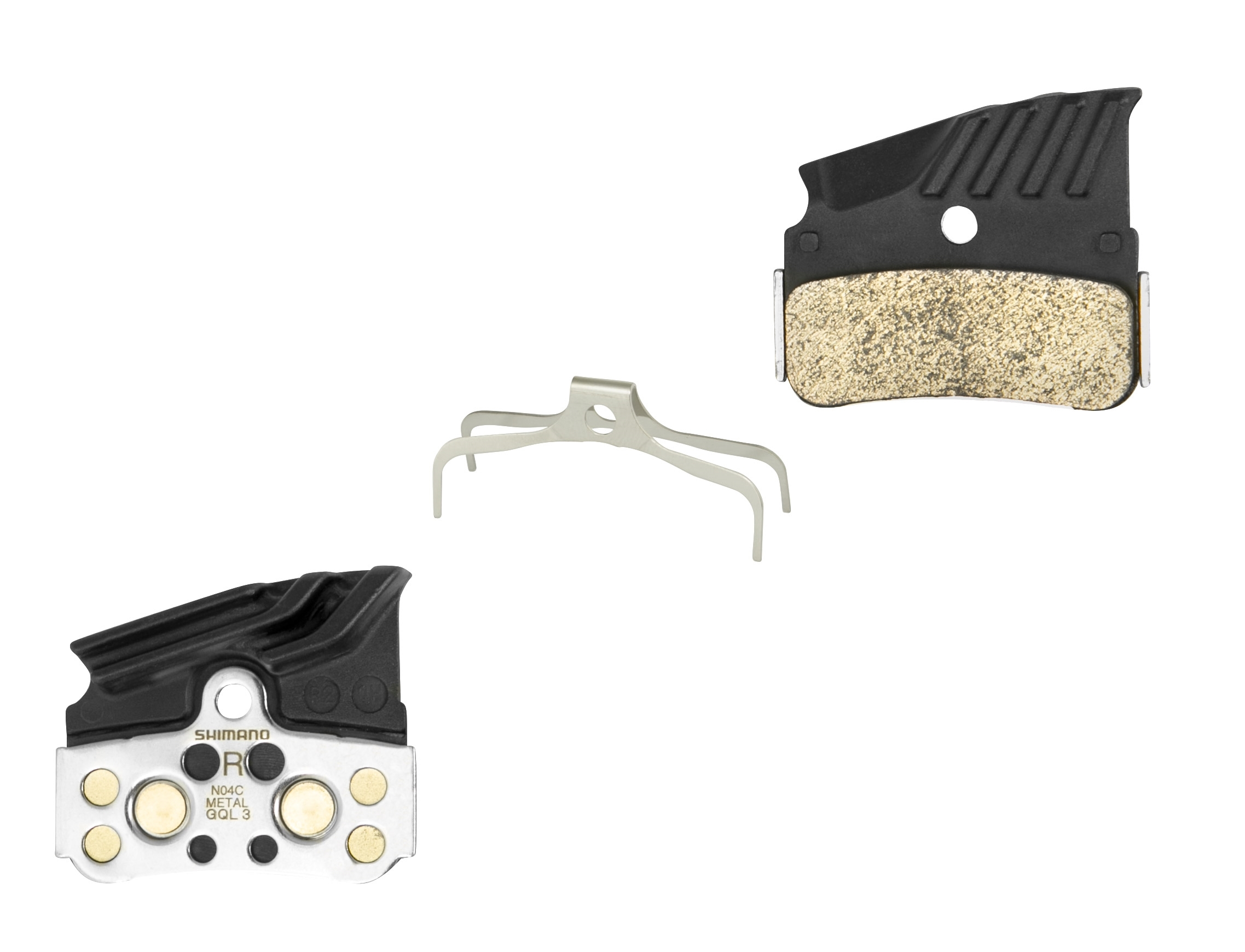 destičky brzd SH BRM9120 kovové,s pružinou+chladič