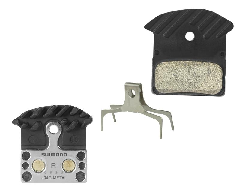 destičky brzd SH BRM985 kovové, s pružinou+chladič