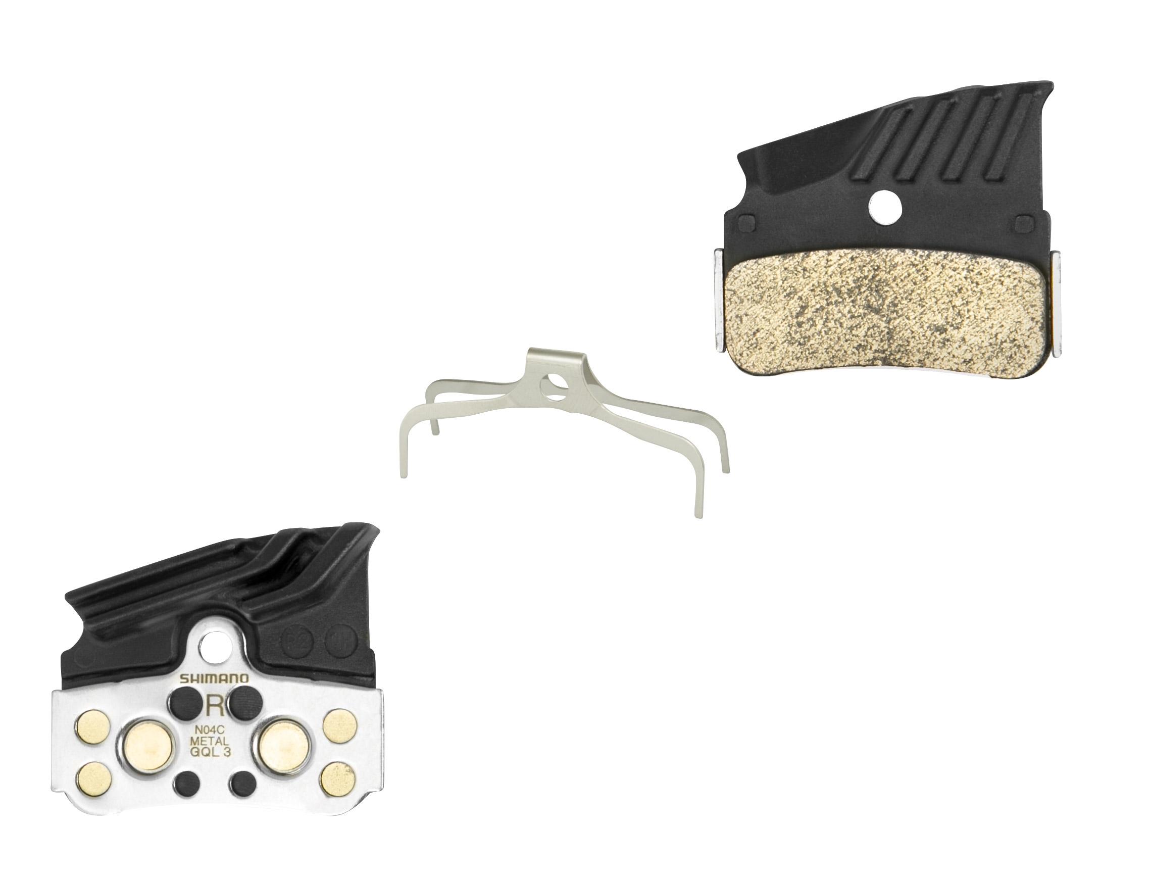 destičky brzd SH N04C kovové,s pružinou+chladič