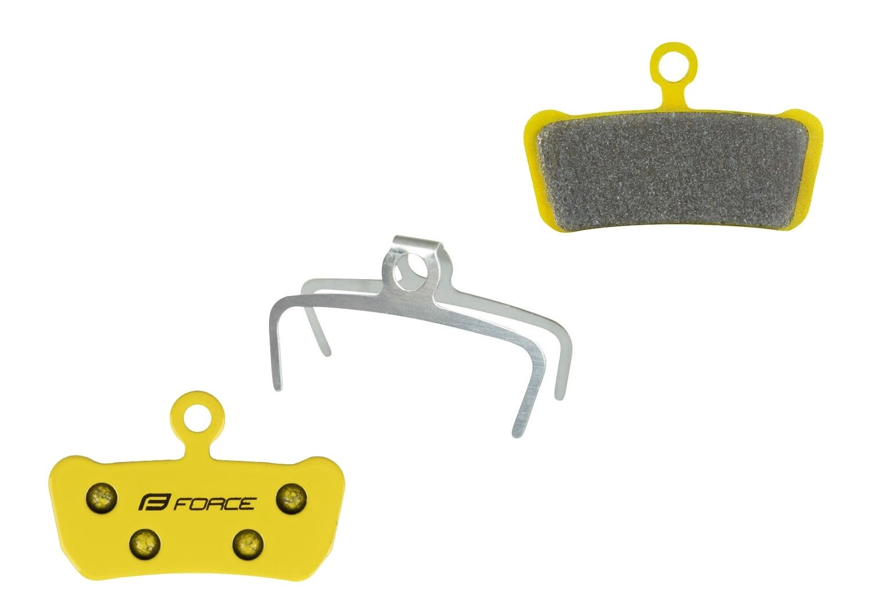 destičky brzdové F AVID X0 Trail sinter,s pružinou