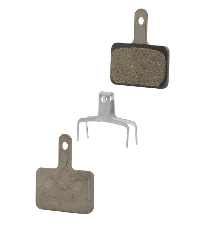 destičky brzdové SH B03S polymerové, s pružinou