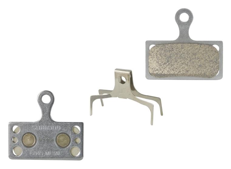 destičky brzdové SH BRM785 kovové, s pružinou