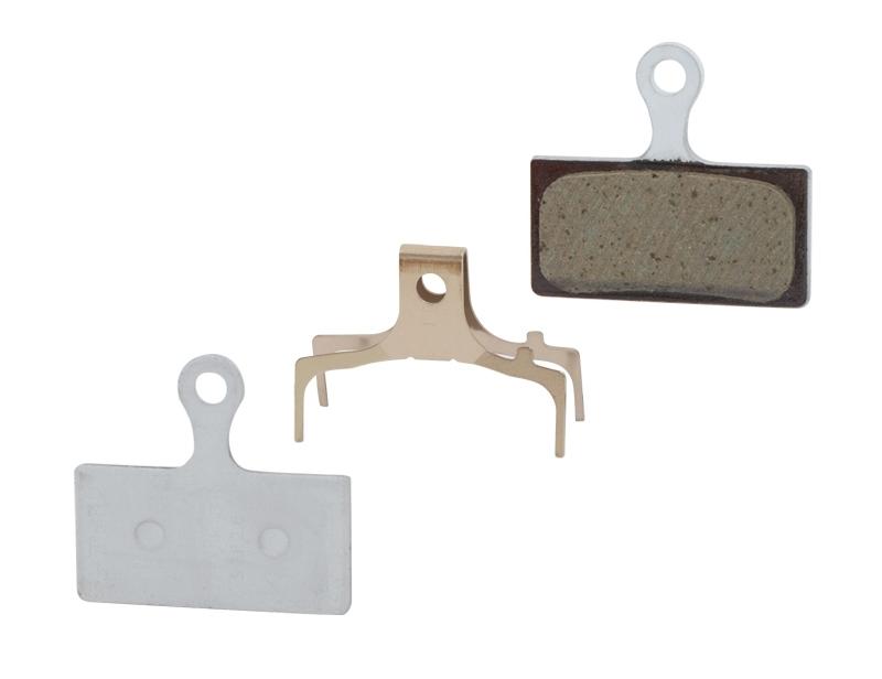 destičky brzdové SH G03A polymerové, s pružinkou