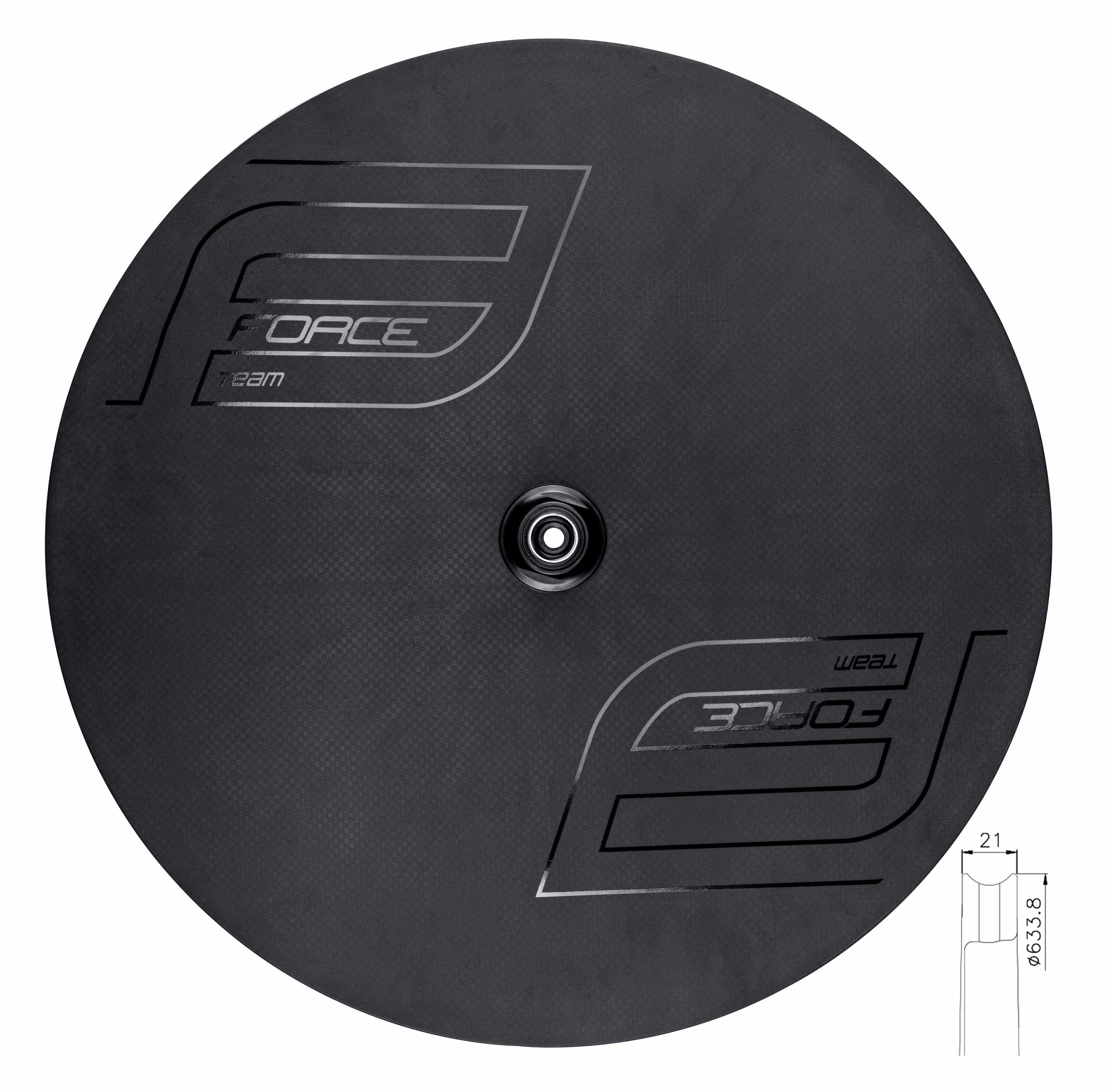 disk FORCE zadní galuskový karb. pro disk.brzdu