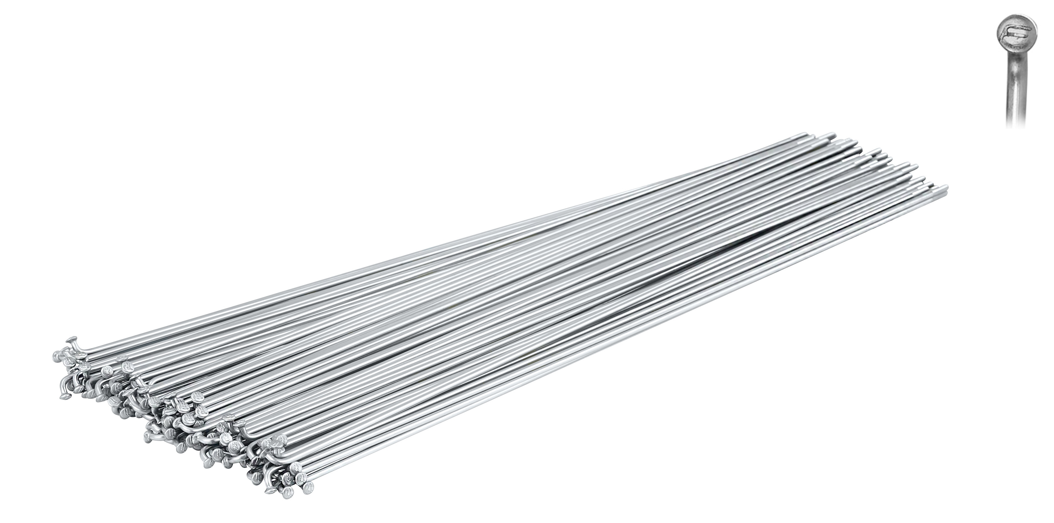 dráty FORCE nerez stříbrné 2 mm x 270 mm