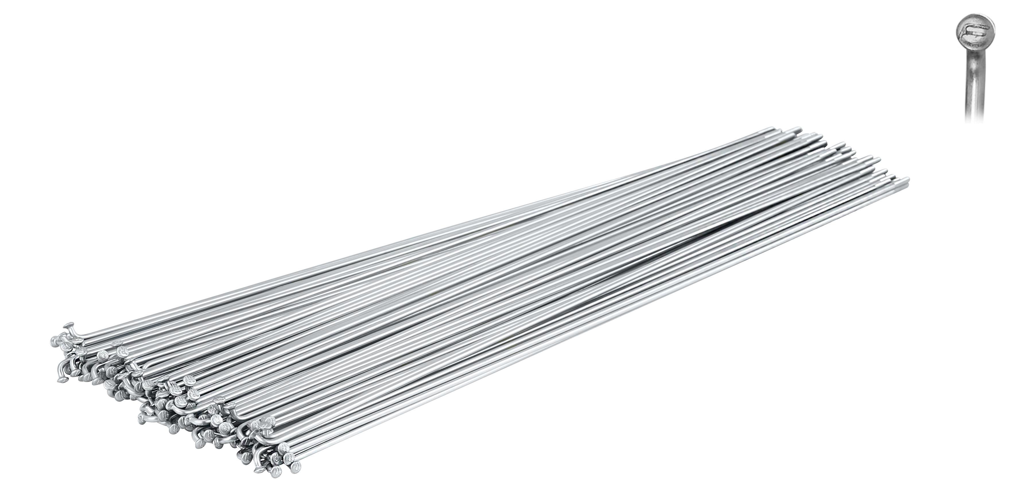 dráty FORCE nerez stříbrné 2 mm x 272 mm
