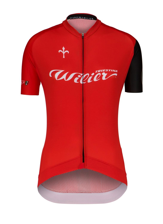 dres WILIER CLUB LADY krátký rukáv, červený L