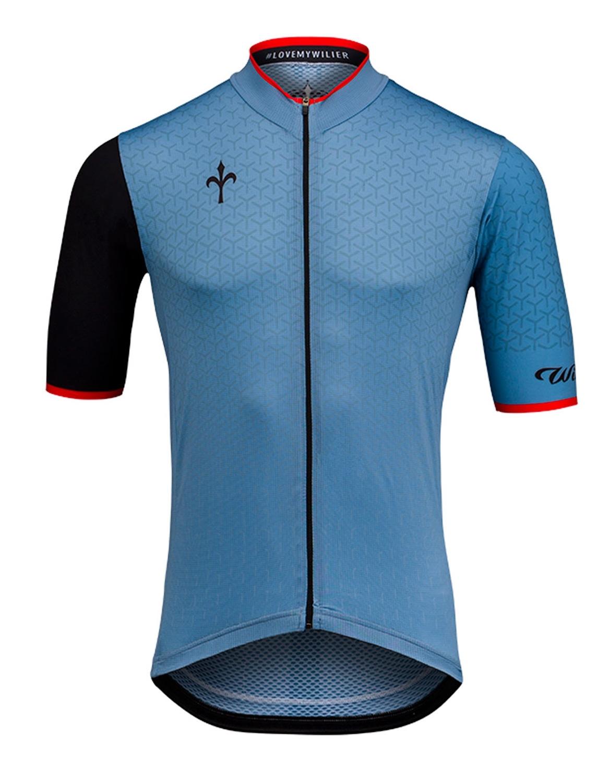 dres WILIER GRINTA krátký rukáv modrý  XL