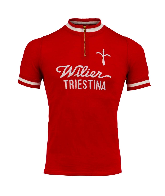 dres WILIER LANA RETRO krátký rukáv, červený M