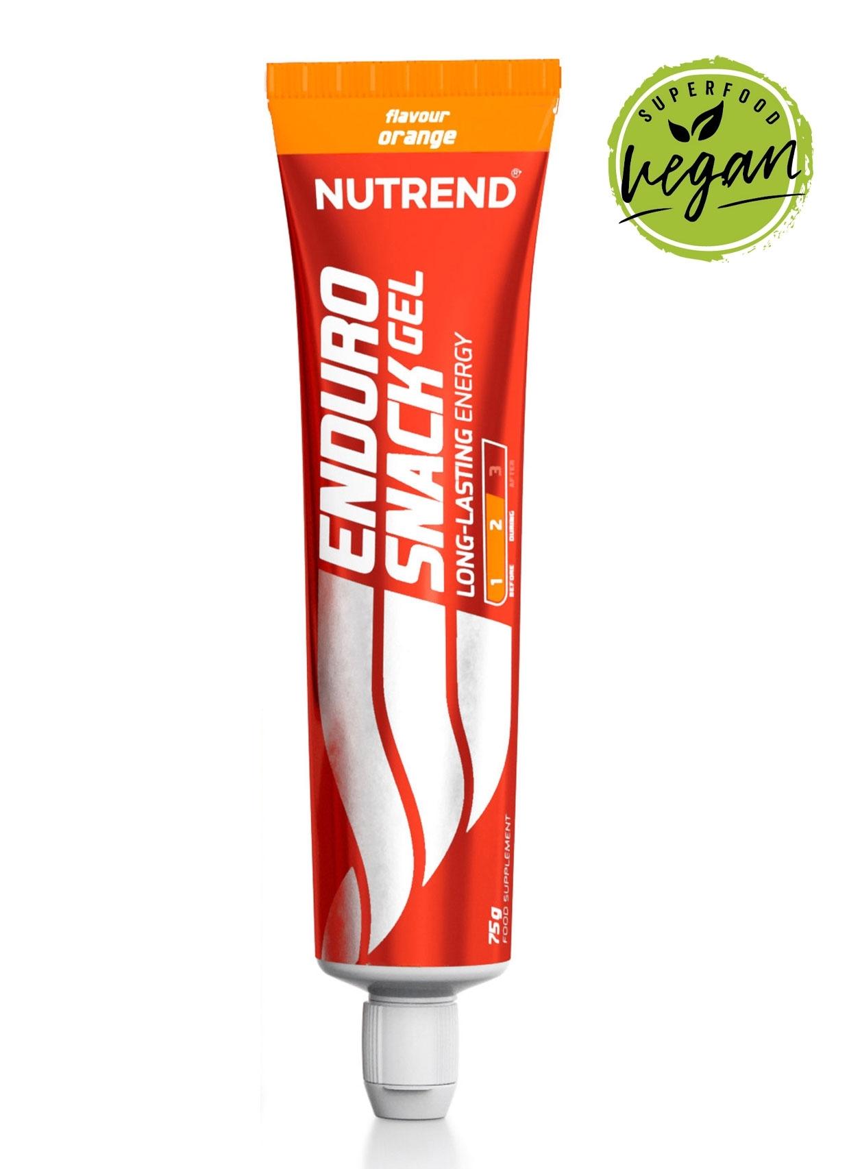 ENDUROSNACK gel, tuba, 75g pomeranč - II. jakost