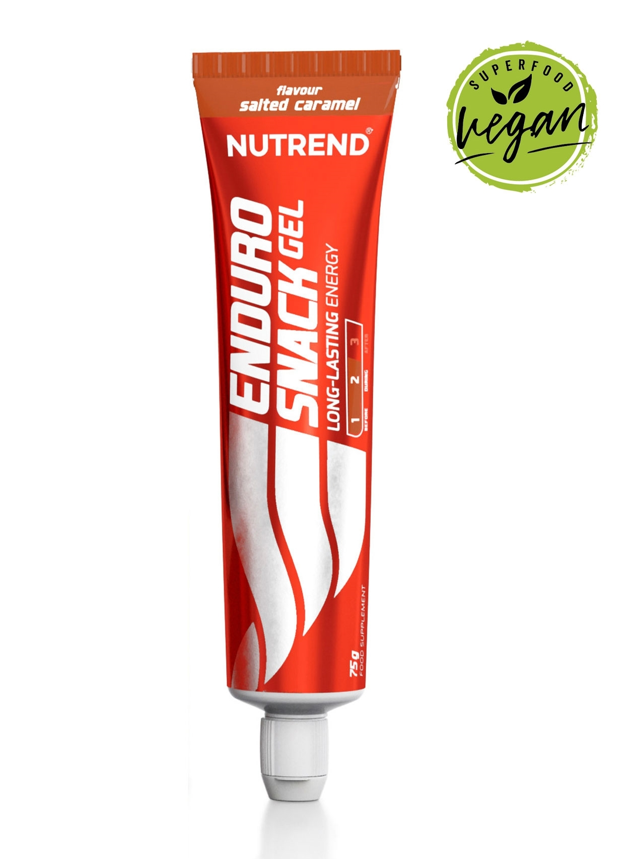 ENDUROSNACK gel, tuba, 75g slaný karamel