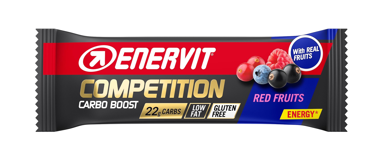 ENERVIT COMPETITION BAR tyčinka 30g červené ovoce