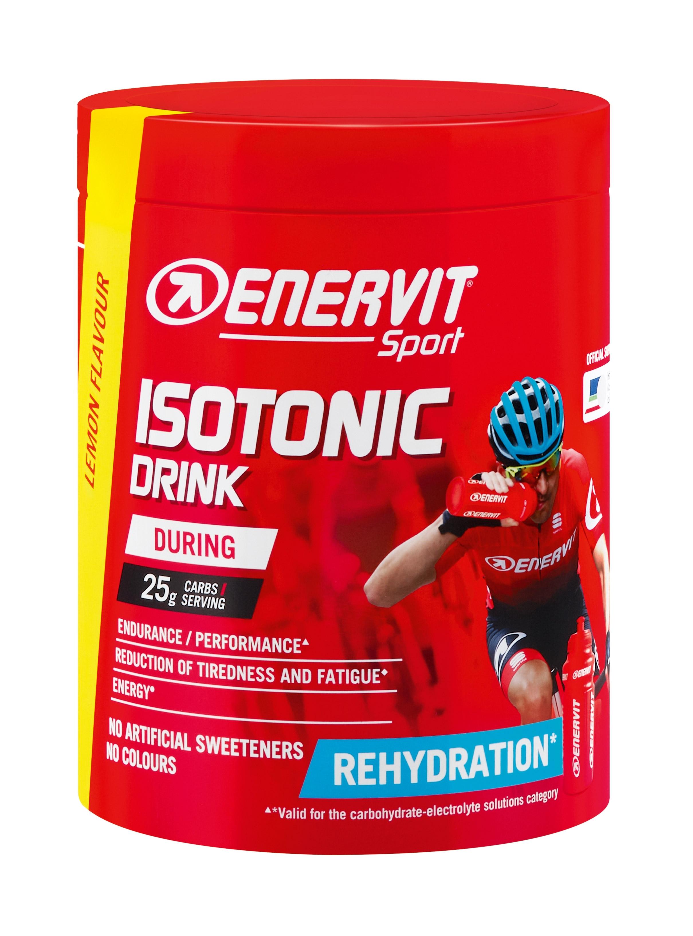 ENERVIT ISOTONIC DRINK instantní nápoj 420g citron