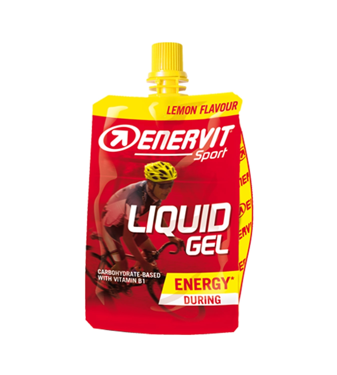 ENERVIT LIQUID GEL, sáček 60ml citron