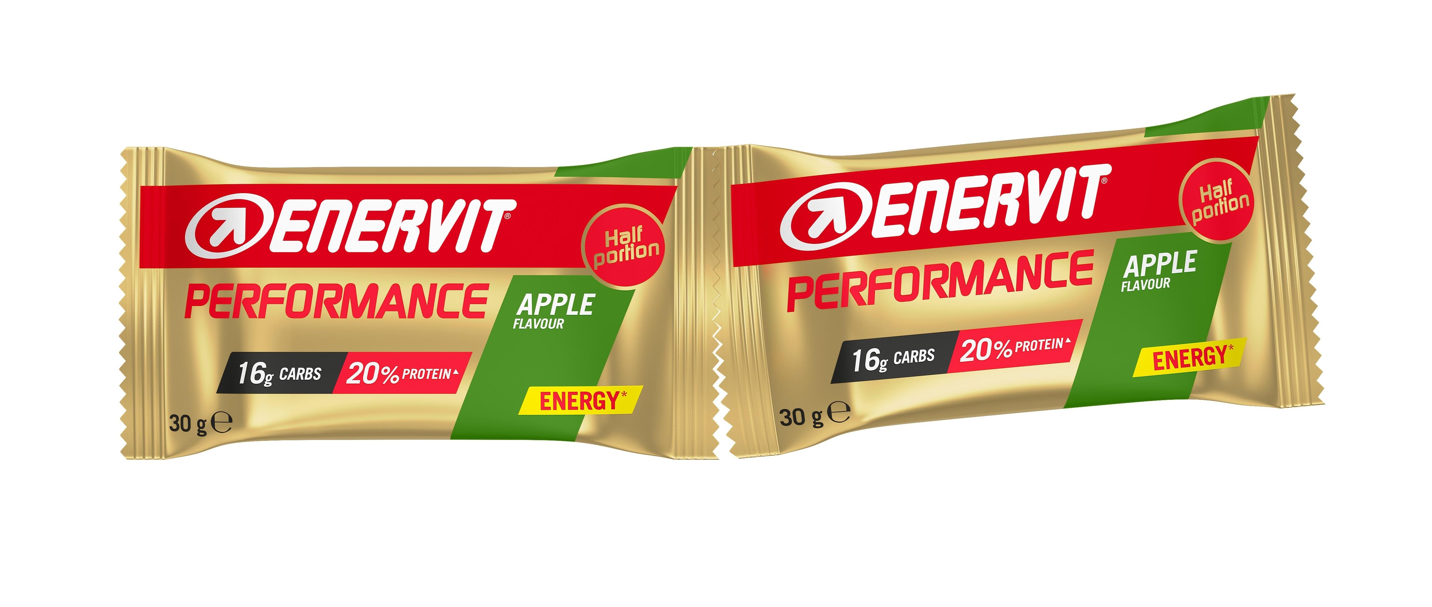 ENERVIT Performance Bar, tyčinka 2x30g, jablko