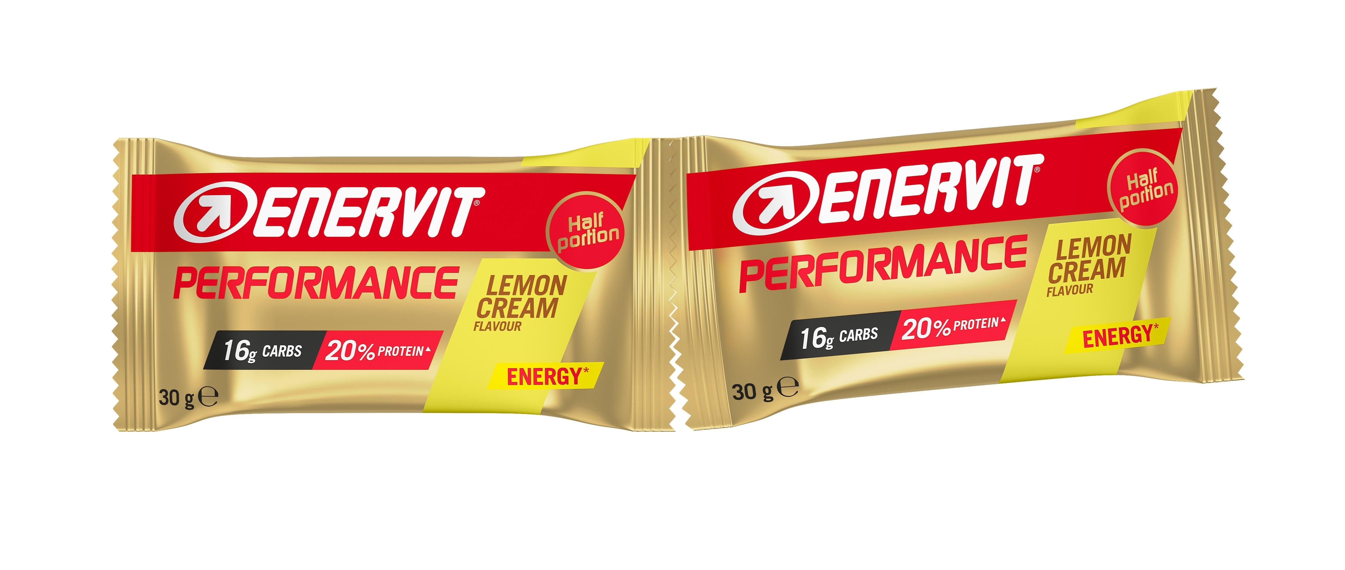 ENERVIT POWER SPORT ENERGY tyčinka 2x30g citron