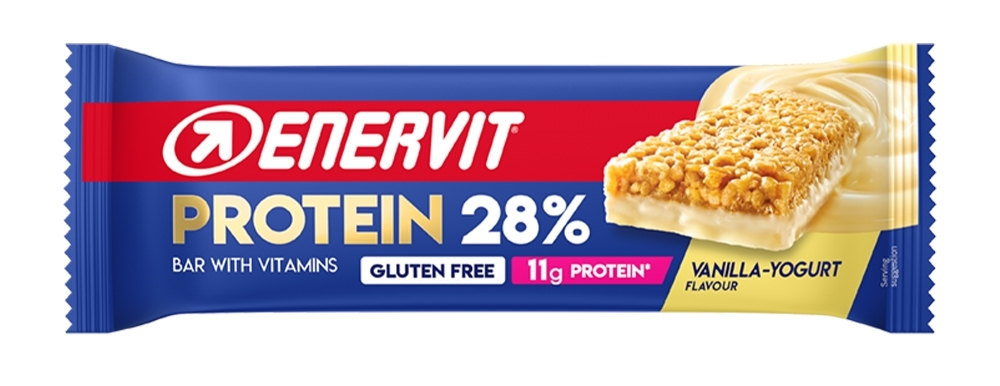 ENERVIT POWER SPORT PROTEIN BAR 28% 40g vanil.+jog
