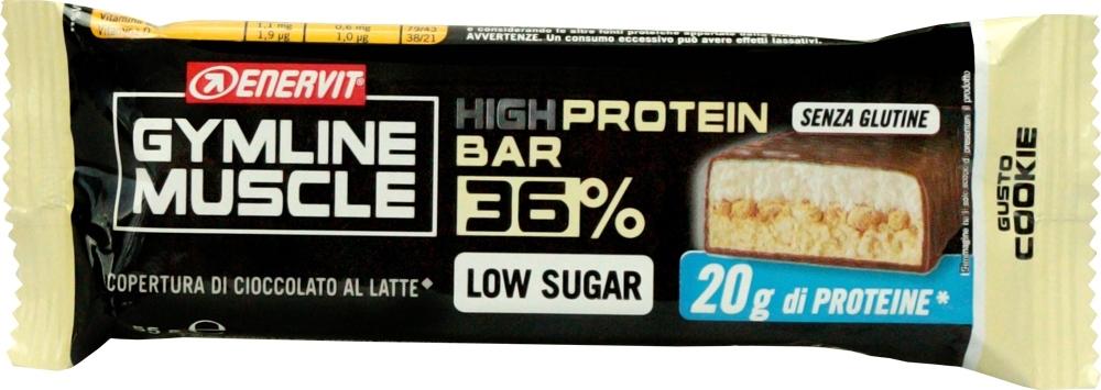 ENERVIT PROTEIN BAR 36%, 55g cookie