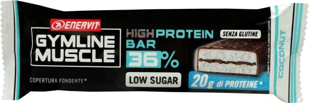 ENERVIT PROTEIN BAR 36%, 55g kokos