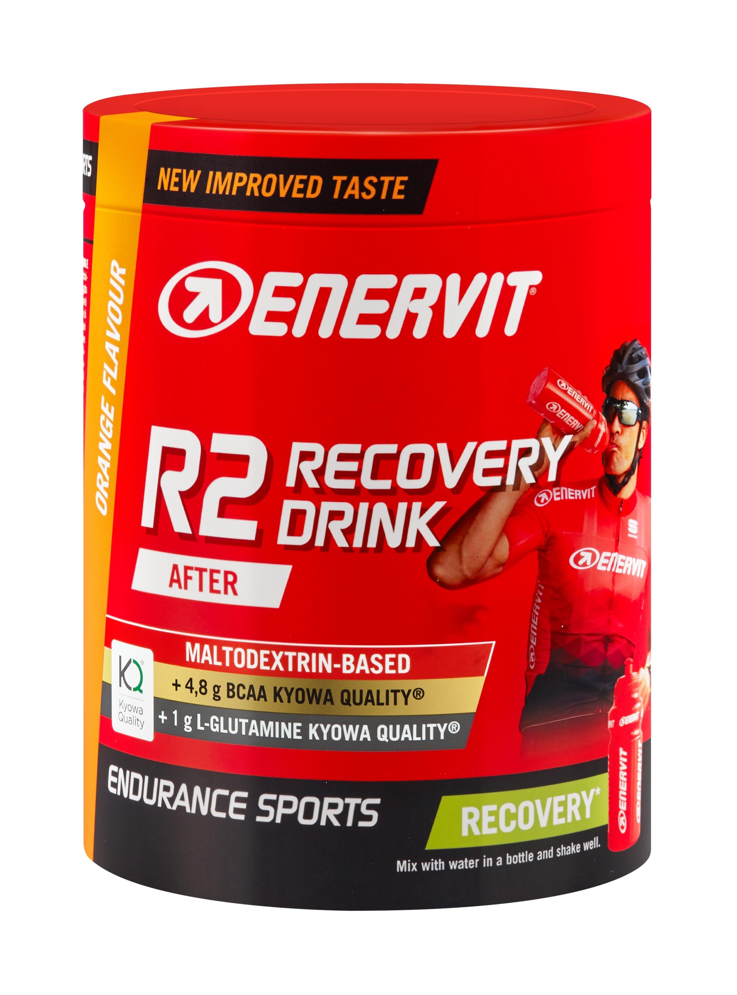 ENERVIT RECOVERY DRINK inst. nápoj dóza 400g, pom.