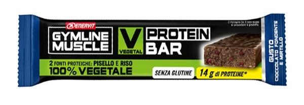 ENERVIT Vegetal Protein Bar, 60g čokoláda+brusinka