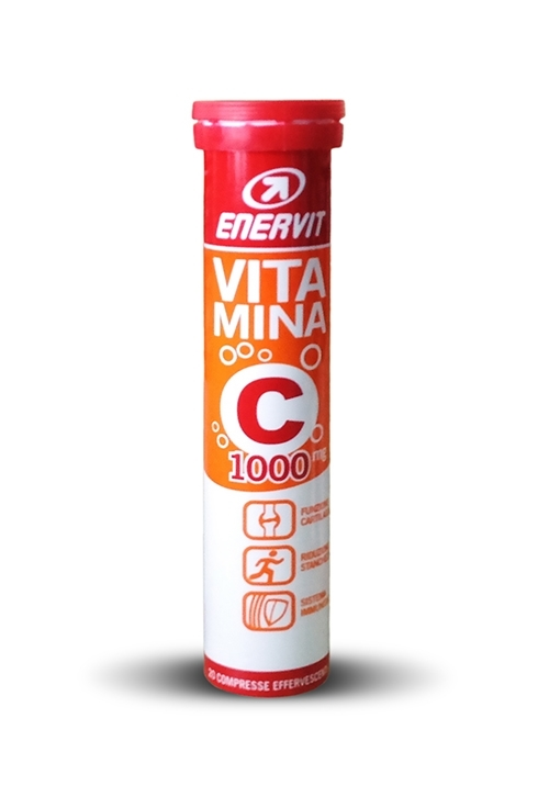 ENERVIT VITAMIN C 1000mg, 20 šumivých tablet