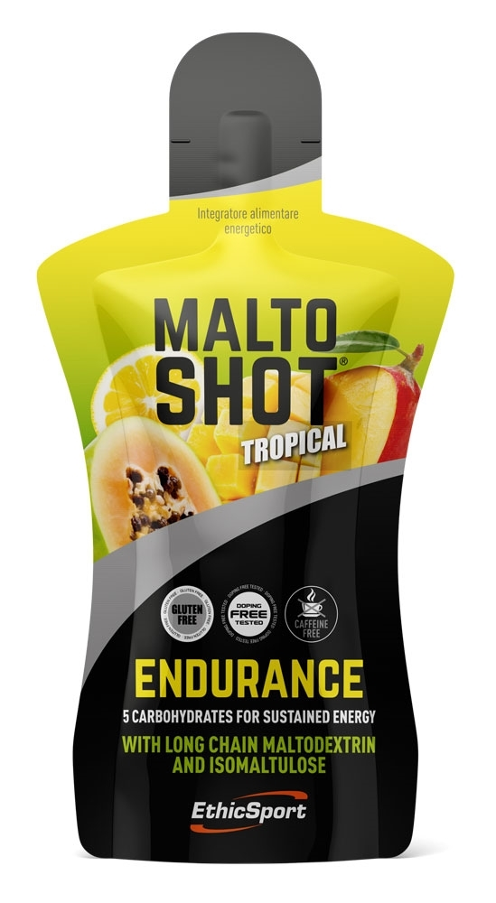 ES MALTOSHOT ENDURANCE 50 ml liquid,tropické ovoce