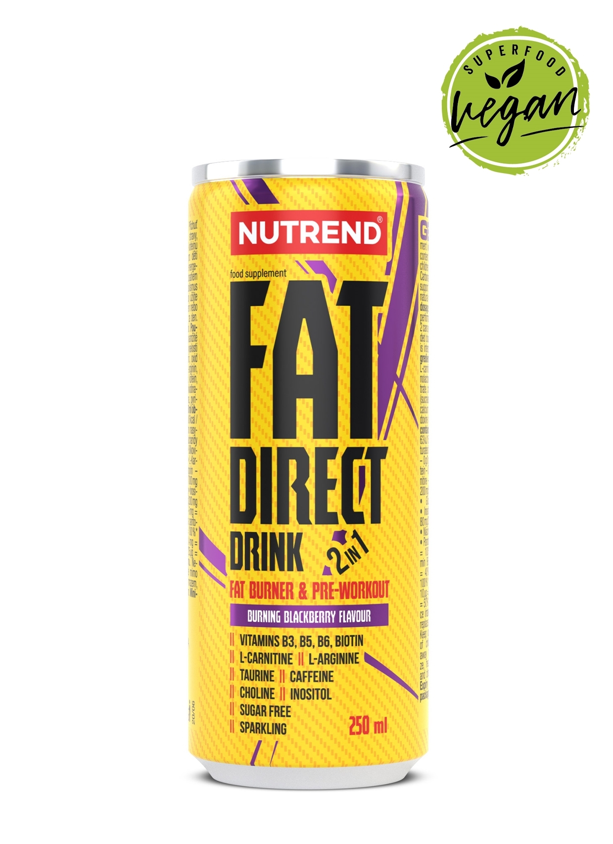 FAT DIRECT DRINK, 250 ml, ostružina
