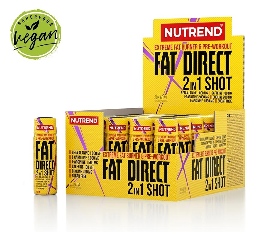 FAT DIRECT SHOT, box - 20 lahviček á 60ml